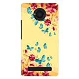 Kaira brand Designer Hard Back Case Cover for Micromax YU Yunique 4G (Gemsbutterfly)