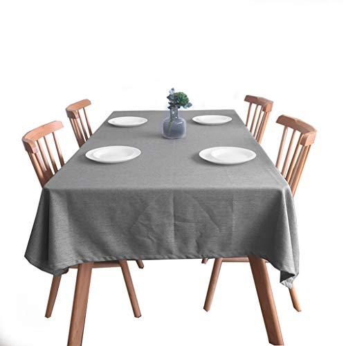 Nappe - Simple Nappe à Linge rectangulaire en Lin Nappe à Manger - Multi-Taille en Option (Taille : 140×140cm)