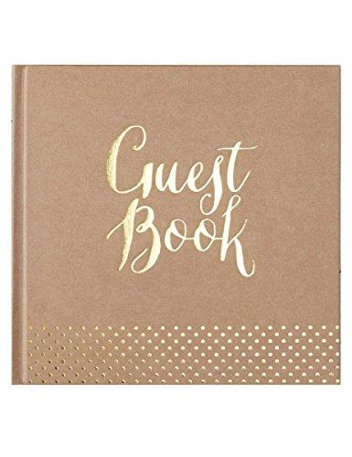 Rustikales Gästebuch im Kraftpapierlook