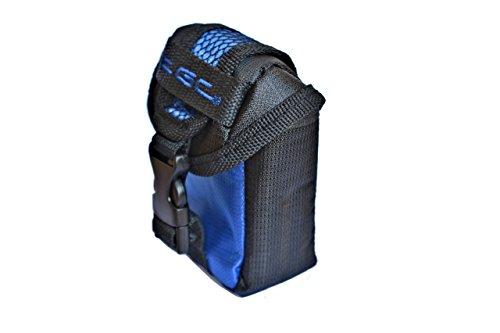 The tgc® dreamy - custodia compatta per videocamera vivitar dvr 870hd, colore: blu e nero