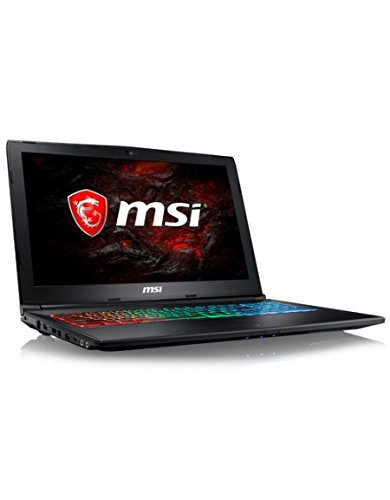 'MSI GP62MVR 7RFX Leopard Pro – Intel Core i7 7700HQ 8 Go SSD 256 Go 842FR + HDD 1TB 15.6 LED FULL HD NVIDIA GeForce GTX 41 3 Go Wi-Fi AC/Bluetooth Webcam Windows Famille 64 Bits (Warranty Constructeur 2 to 10) (Catég Orie: PC Portable)