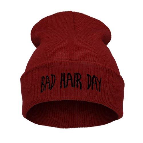 Beanie Mütze Hat Mütze Bad Hair Day Fuckin Problems Comme des Fuckdown.Hit Neu 200...