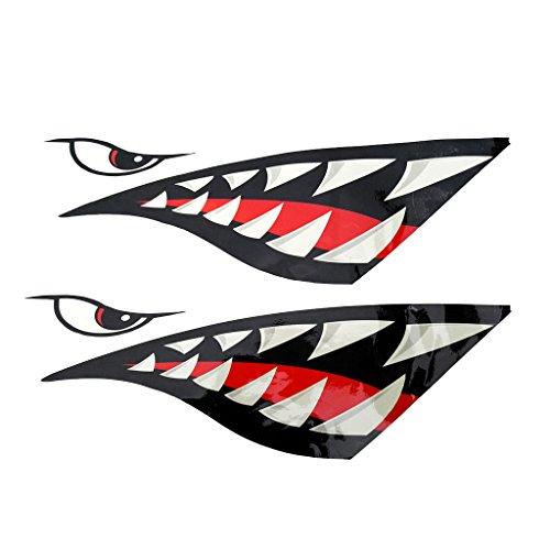 Continuamente nos esforzamos por ofrecer productos baratos de alta calidad y servicio excelente a clientes de tienda RT Technology.           Descripción:       - diseño nuevo y fresco de la marca - Esta calcomanía tiburón es gráficos gruesas...