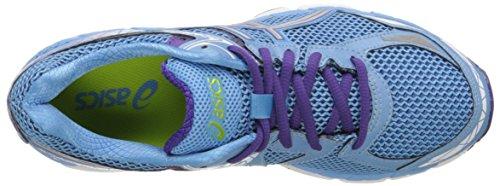 Asics Women's Gel-indicate Running Shoe Soft Blue/Lightning/Purple
