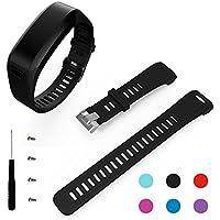 Garmin Vivosmart HR Armband, BeneStellar Ersatz Soft Silikon Bracelet Zubehör mit Schraubendreher für Garmin Vivosmart HR