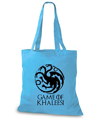 StyloBags Jutebeutel / Tasche Game of Khaleesi - mother of Dragons Sky