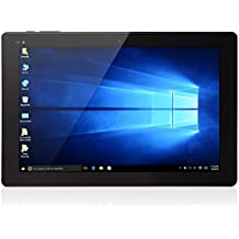"Chuwi Hi10 - 10.1"" Tablet PC Windows 10, HDMI (Pantalla IPS, Ram 4GB Rom 64GB, Quad-Core, 1920x1200P, Intel Cherry Trail Z8300, Dual Cámara de 2.0MP), Negro"