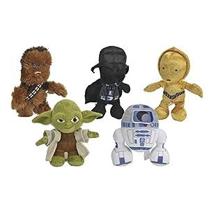 Simba Toys-5873896-Peluche de Star Wars-17cm-Modelo Aleatorio