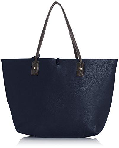 tiny-love-nina-large-reversible-tote-handbag-borsa-da-donna-blunavy-blue-grey-taglia-unica