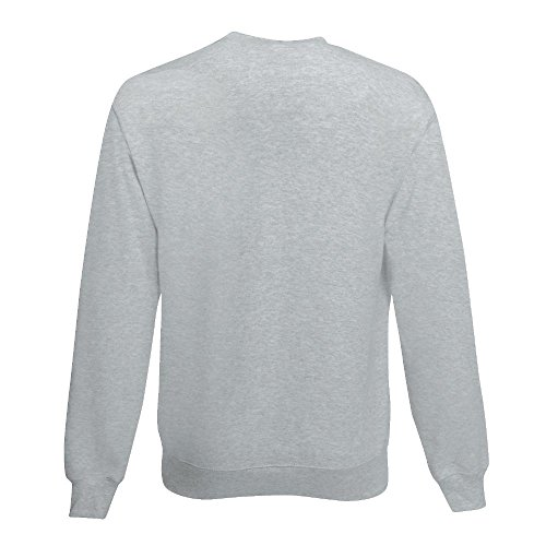 Fruit of the Loom - Sweatshirt 'Set-In' XL,sky blue XL,Sky Blue - 4