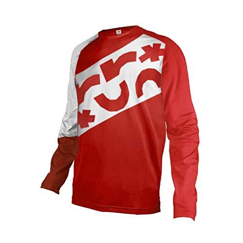 Sports Wear Uglyfrog Camiseta Downhill Coloridas de la Bicicleta Ciclismo Hombre Transpirable de Secado rápido Camisa de Manga Larga Jerseys Ciclo de la Bici de Manga Larga Chaqueta