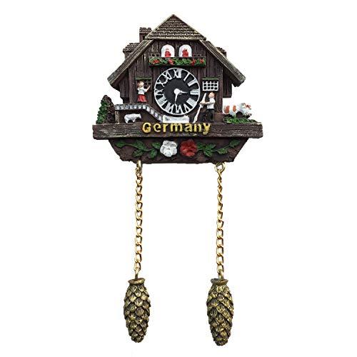 Kuckucksuhr Deutschland 3D Kühlschrank Magnet Reise Aufkleber Souvenirs, Home & Küche Dekoration Deutschland Kühlschrank Magnet Aus China - Magnet Deutschland Kühlschrank