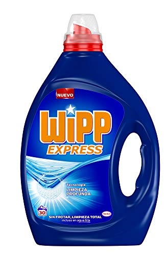 4 botellas de detergente líquido Wipp Express por sólo 15,16€ ¡¡57% de descuento!!