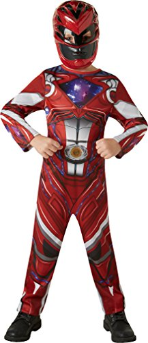 Rubie's 3630710 - Red Power Rangers 2017 Classic, Action Dress Ups und Zubehör, (Junge Ranger Kostüme Power)