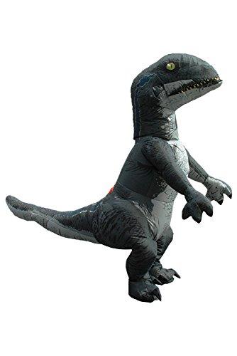 Disfraz de dinosaurio adulto inflable Vestido de fantasia de dinosaurio Disfraz de dinosaurio para adulto siendo 1.5-1.8M