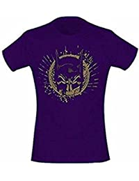 BATMAN - GOLD SKULL MASK - OFFICIAL WOMENS T SHIRT