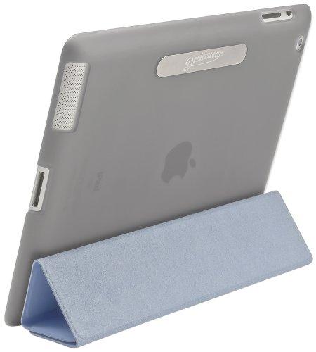 Devicewear Union Shell Schutzhülle für iPad 2/3 / 4, mit Magnetverschluss, für Öffnen grau Color