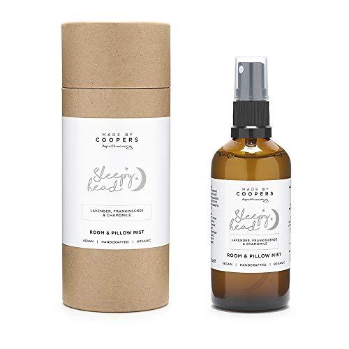 Lavanda, mirra, manzanilla relajante almohada Mist con aceites esenciales by Made By Coopers-Remedio...