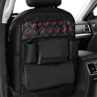 Aszhdfihas Car Seat Organiser Multifunctional Back Suspension Car Seat Storage Bag Car Debris Storage Pockets For Toys Book Drinks Tissue Umbrella Toddler for Travelling