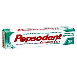 Pepsodent Complete Care Enamel-Safe Whitening 6 Oz (Pack of 12)
