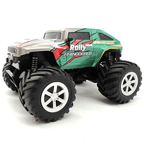 Mogicry Hummer eléctrico de control remoto del coche 2.4Ghz profesión alta velocidad SUV de cuatro ruedas escalada gran camión de nivel de competencia juguete coche Boy RC coche de regalo para niños 3