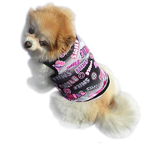 vêtements pour chien, Été Pet Cute Puppy petit chien Cat