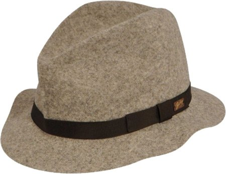 Bailey of Hollywood - Chapeau trilby feutre Dean (pliable) marron-fonce
