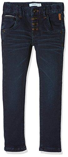 NAME IT Jungen Jeans NKMSILAS DNMTRENT 3003 Pant NOOS, Grau (Dark Blue Denim), 164
