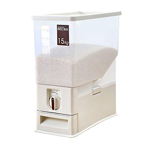Storage Box / Stoccaggio Barrel / Cucina Storage Box / Riso bagagli barili / benna Sealed / creative Scatole di finitura multifunzione (42 * 17,5 * 45,5 centimetri)