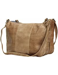 Greenburry Stainwashed Sac bandoulière cuir 35 cm