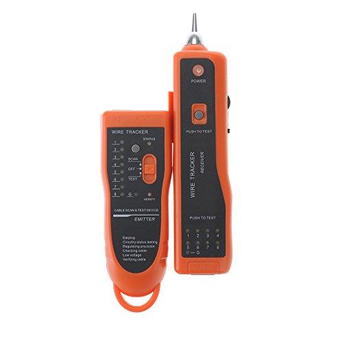 Orange Telephone Network (VicTsing Netzwerk LAN-Ethernet-Telefonkabel Toner Draht-Verfolger Tracking System & Tester Generator)