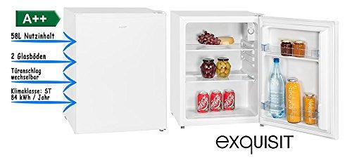 Exquisit KB 60-15 A++ Weiß Kühlbox, A++, 58 Liter