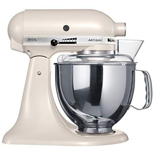 KitchenAid 5KSM150PSELT Küchenmaschine Serie Artisan, baiser (Aid Volt Kitchen Artisan 220)