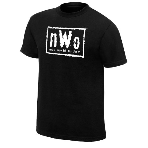 N.W.O. Retro T-Shirt, Black