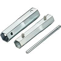 ARNOLD 6111-ZK-0001 Llave de bujía 1pieza(s) llave de tubo - Llaves de tubo (Llave de bujía, 1 pieza(s), Cromo, 16,18,19,21 mm)
