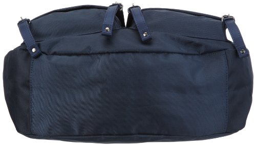 Sansibar Twister Ltd. Edition B-964 TL 03, Damen Umhängetaschen 36x36x14 cm (B x H x T) Blau (Navy)