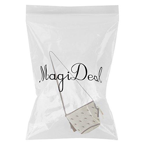 MagiDeal Borse a Spalla per Donna Cotone Stringa Spalla Singola per Spiaggia, Valigeria Sacchetto Casuale Verde