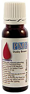 PME 100% Natural Food Colouring Dusky Brown 25 g