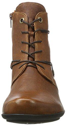 Think Sammas, Stivali Desert Boots Donna Marrone (Sattel/kombi 52)