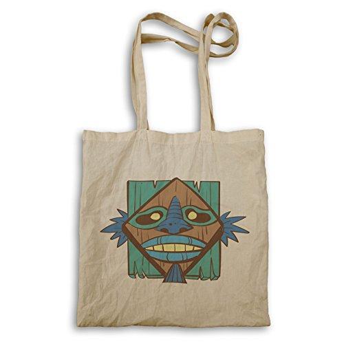 Stammes- Maske Aloha Kunst Tragetasche p880r