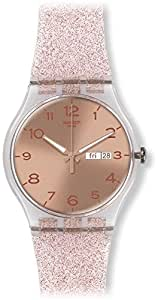 Swatch Orologio da Donna Analogico al Quarzo con Cinturino in Silicone – SUOK703