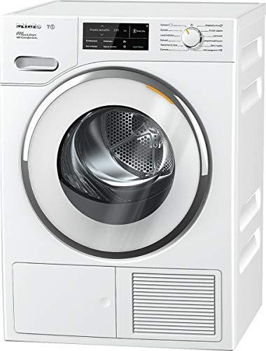 Miele TWJ 680 WP SteamFinish Asciugatrice Libera Installazione a Pompa di Calore, 1.63 W, 9 kg, 64 Decibel, Bianco