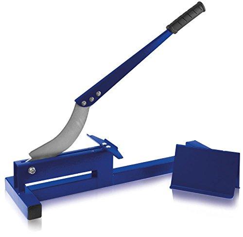 X4-TOOLS Laminatschneider blau - Laminat schneiden bis 200mm Breite 11mm Stärke