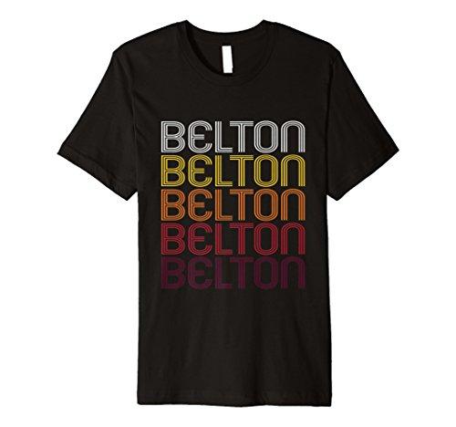 South Carolina Damen T-shirt (Belton, SC   Vintage Style South Carolina T-shirt)