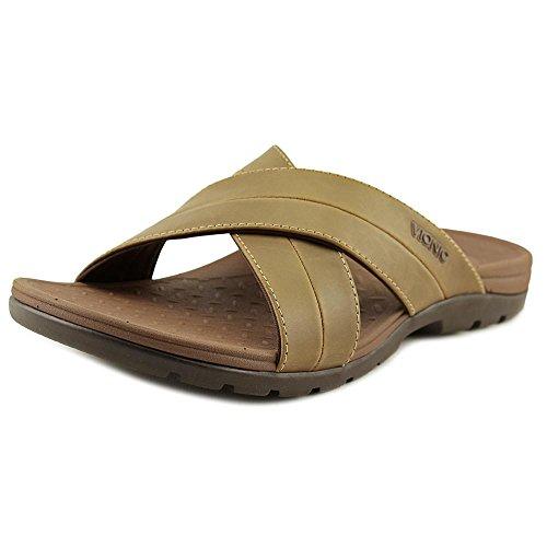VIONIC Holbrook - Men's Leather Slide Sandals