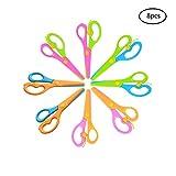 Best Creativity for Kids Scissors - Wenosda 8pcs Safety Scissors DIY Craft Safe Scissor Review