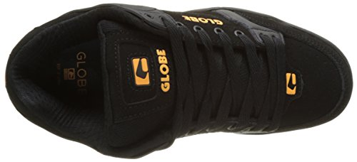 Globe Tilt, Chaussures de Skateboard homme Noir (Black/Black/Orange)