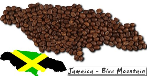 Jamaica Blue Mountain - 1000g - Ganze Bohne (Ganze Bohne Kaffee Blue Mountain)