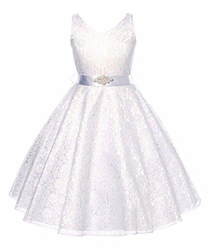 Belle Brautkleider Disney (Mädchen Kinder Prinzessin Festkleider Hochzeit Partykleider Brautkleid)