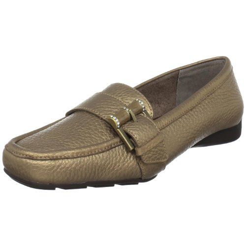 Bella Loafer (Bella Vita Women's Playmate Loafer,Bronze,9.5 W US)